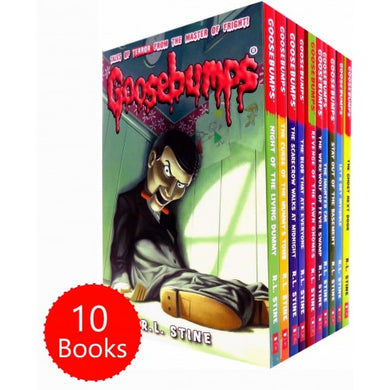 The Classic Goosebumps Series R L STINE 10 Books Collection (Set 1)
