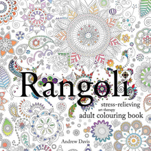 Load image into Gallery viewer, Rangoli: Stress-Relieving Art Therapy Adult Colouring Book - Bangzo Books Wholesale