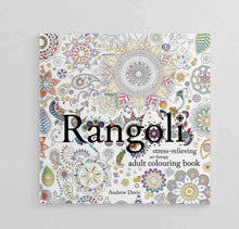 Load image into Gallery viewer, Rangoli: Stress-Relieving Art Therapy Adult Colouring Book