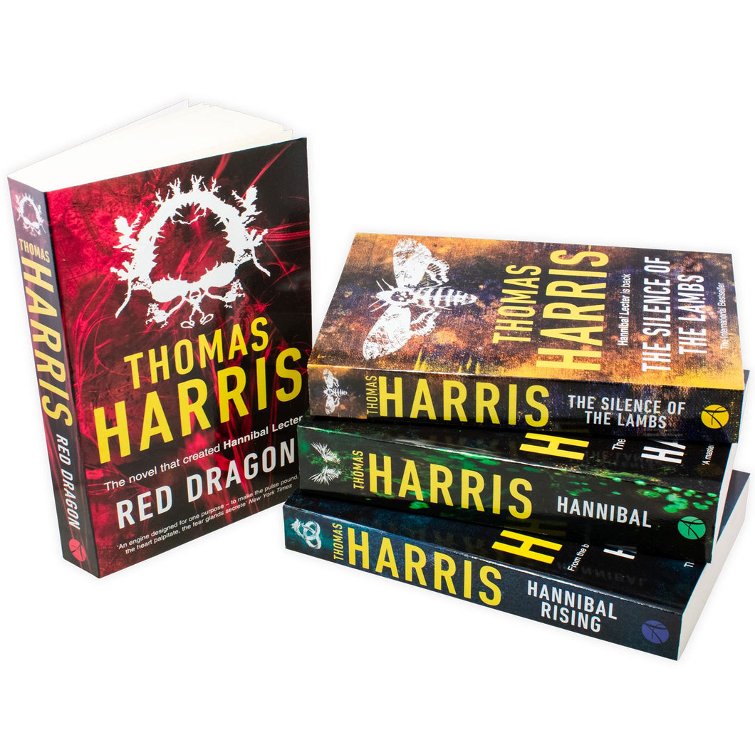 Thomas Harris Hannibal Series 4 Books Collection