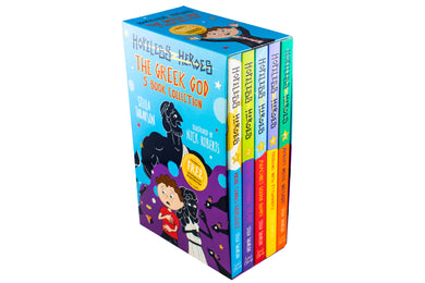 Hopeless Heroes: The Greek God 5 Book Collection