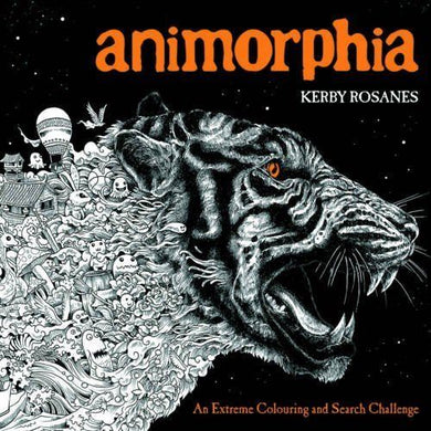 Animorphia An Extreme Colouring Search Challenge Book