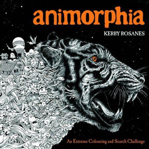 Animorphia An Extreme Colouring Search Challenge Book - Bangzo Books Wholesale