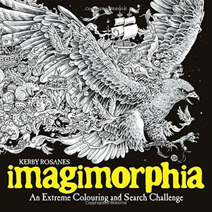 Imagimorphia- An Extreme Colouring and Search Challenge Book Paperback New