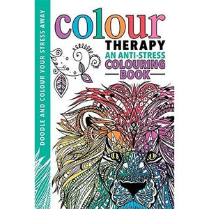 Colour Therapy: An Anti-Stress Colouring Book Paperback
