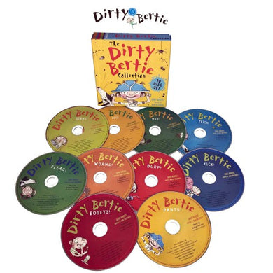 Dirty Bertie 10 CD set