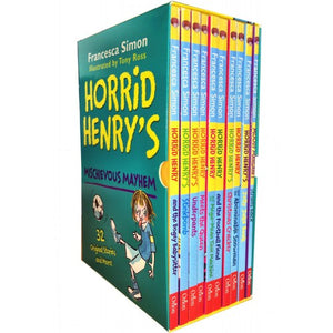 Horrid Henry's Mischievous Mayhem Collection 10 Books Box Set