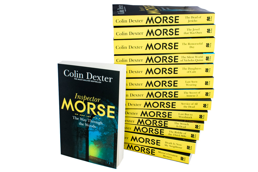 Inspector Morse 14 Book Collection