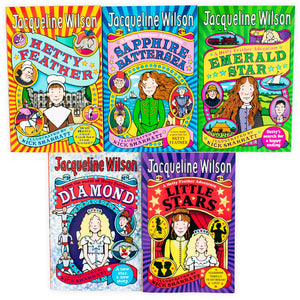 Jacqueline Wilson Hetty Feather Adventures 5 Books Collection - Bangzo Books Wholesale