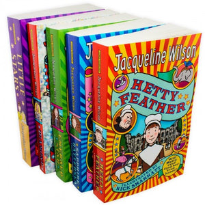 Jacqueline Wilson Hetty Feather Adventures 5 Books Collection