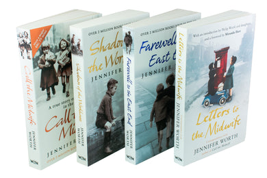 Call the Midwife Jennifer Worth Collection 4 Books Set