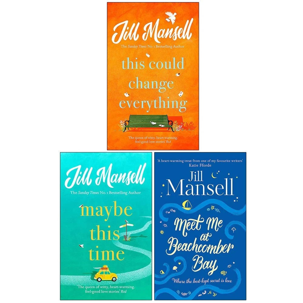 Jill Mansell Collection 3 Books Set (This Could Change Everything, Maybe This Time, Meet Me at Beachcomber Bay) - Adult - Paperback