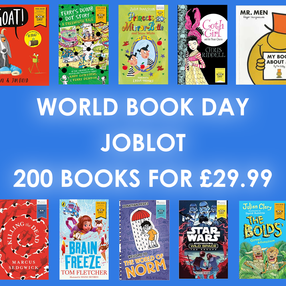 JOBLOT of 200 brand new World Book Day books