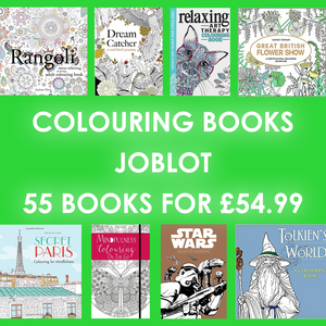 JOBLOT of 55 brand new Colouring Books