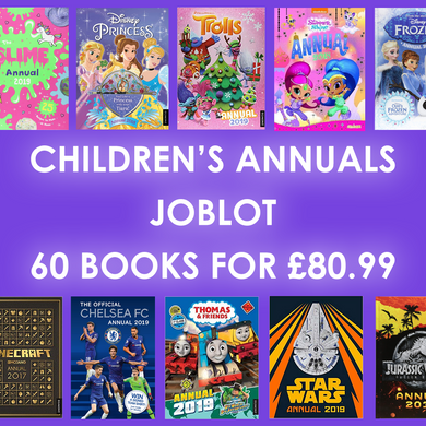JOBLOT of 60 brand new Children's Annuals