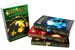 Jonathan Stroud Bartimaeus Sequence 4 Books Collection