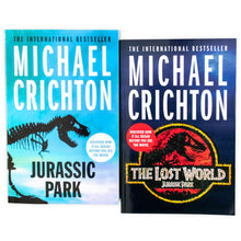 Load image into Gallery viewer, Michael Crichton Jurassic Park 2 Books Collection