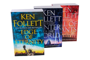 Ken Follett Century Trilogy War Stories Collection 3 Books Set