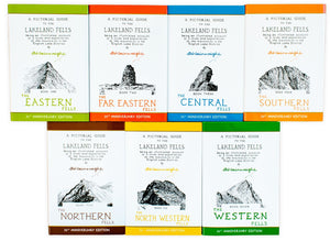 Pictorial Guide To Lakeland Fells 7 Books Box Set