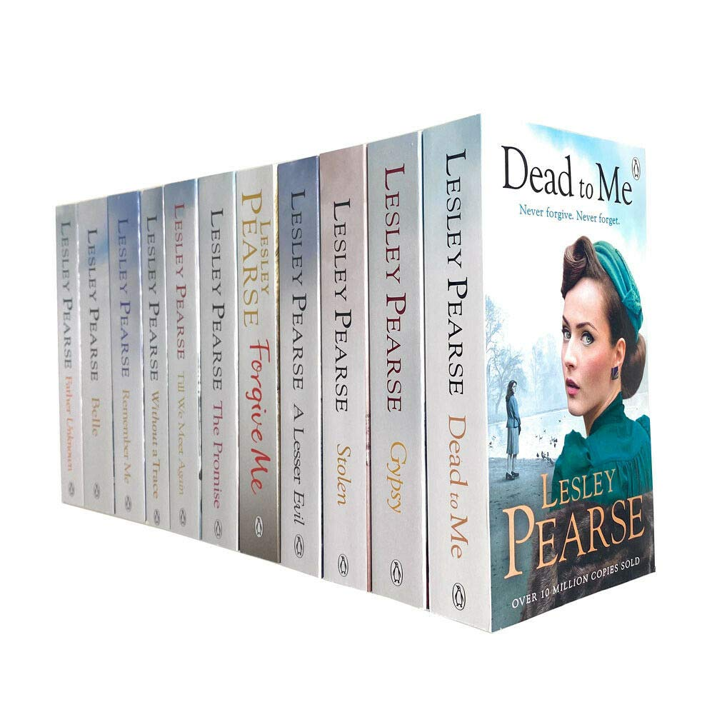 Lesley Pearse 11 Books Collection Set Stolen, Without a Trace, Forgive Me, Belle & MORE – Adult - Paperback