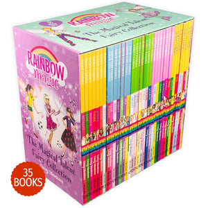 Rainbow Magic The Magical Talent Fairy 35 Books Collection