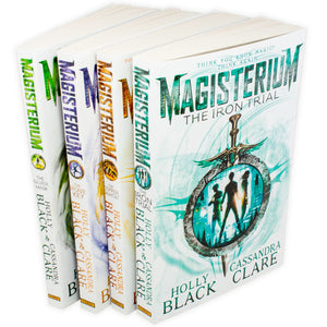 Magisterium 4 Books Collection