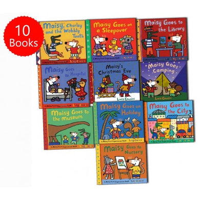 Maisy Mouse First Experiences 10 Books Collection Pack Set