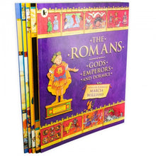 Load image into Gallery viewer, Comic Strip Classics Of The Ancient World 5 Books Children Collection Paperback By Marcia Williams