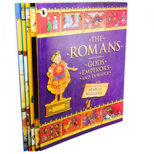Comic Strip Classics Of The Ancient World 5 Books Children Collection Paperback By Marcia Williams - Bangzo Books Wholesale