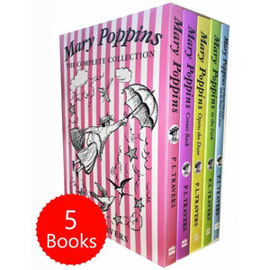 Mary Poppins - The Complete Collection 5 Books Box Set