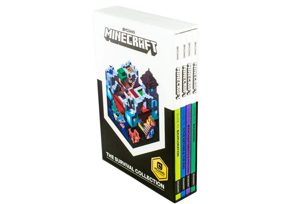 Minecraft The Survival Collection 4 Books Box Set