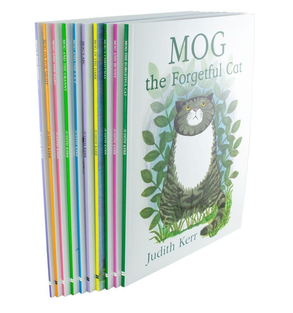 Mog the Cat 10 Books Collection Set by Judith Kerr