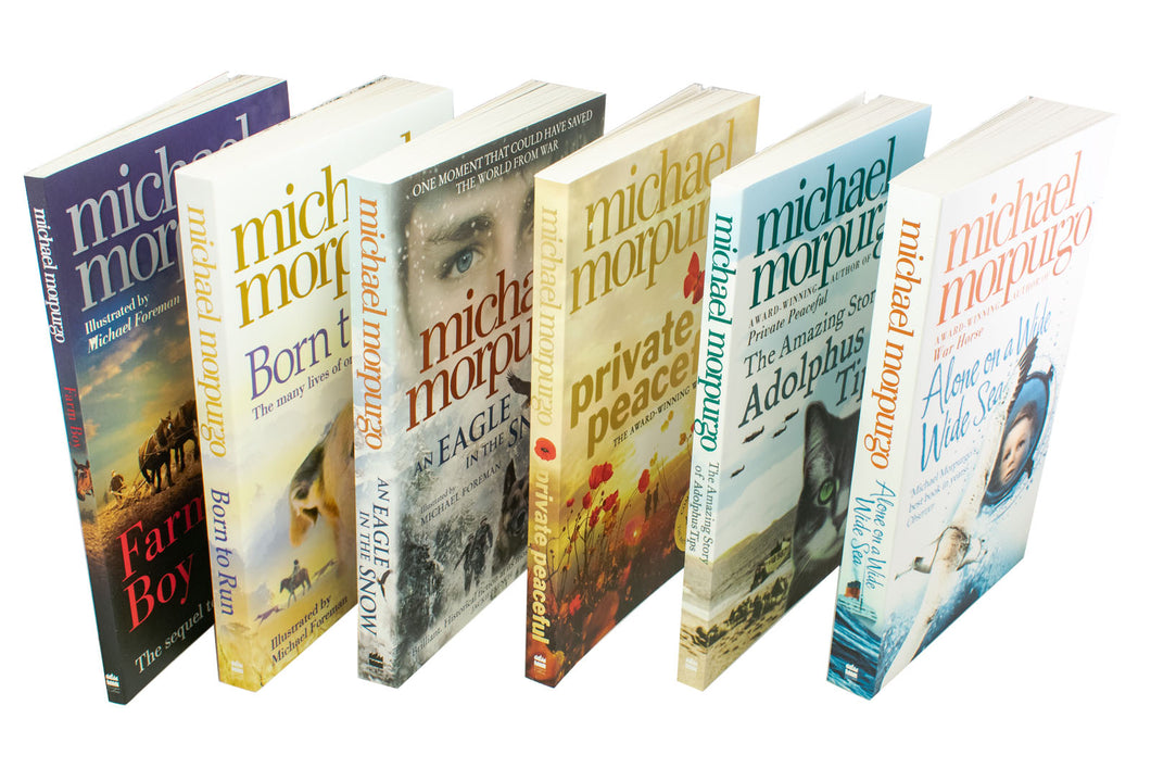 Michael Morpurgo 6 Book Collection - Set 1