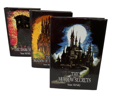 The Morrow Secrets Trilogy by Susan McNally 3 Books Collection Hardback