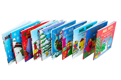 Mr. Men Christmas 10 Books Collection