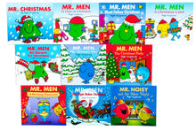 Load image into Gallery viewer, Mr. Men Christmas 10 Books Collection