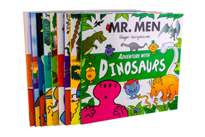 Mr Men Adventures 9 Book Collection