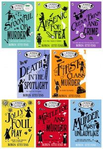 Robin Stevens A Murder Most Unladylike Mystery 8 Books Set - Fiction - Paperback
