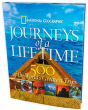 Load image into Gallery viewer, National Geographic Journeys of a Lifetime: 500 of the World's Most Greatest Trips - Bangzo Books Wholesale
