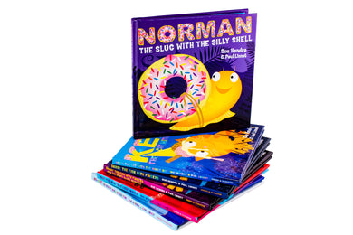 Norman's Super-Library 6 Book Collection