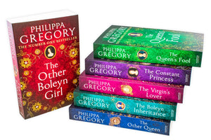 Philippa Gregory Tudor Court Novels 6 Books Collection