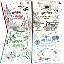 Load image into Gallery viewer, Harry Potter 4 Colouring Books Collection Set