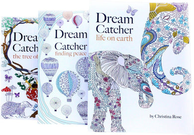 Dream Catcher Anti-Stress Adult Colouring 3 Book Collection