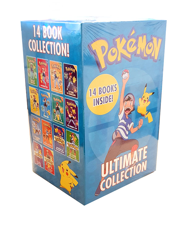 Pokemon Ultimate Collection 14 Books Set - Ages 9-14 - Paperback - Tracey West