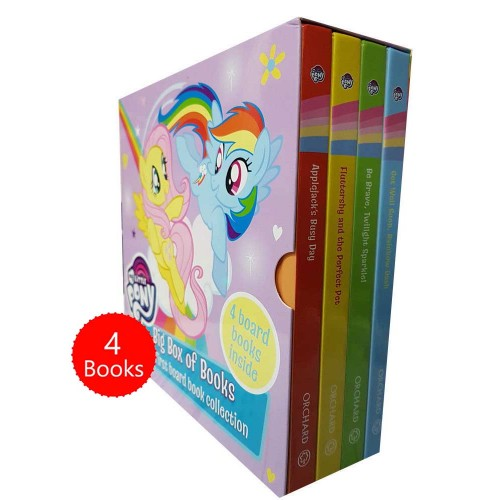My Little Pony Big Box of 4 Board Books