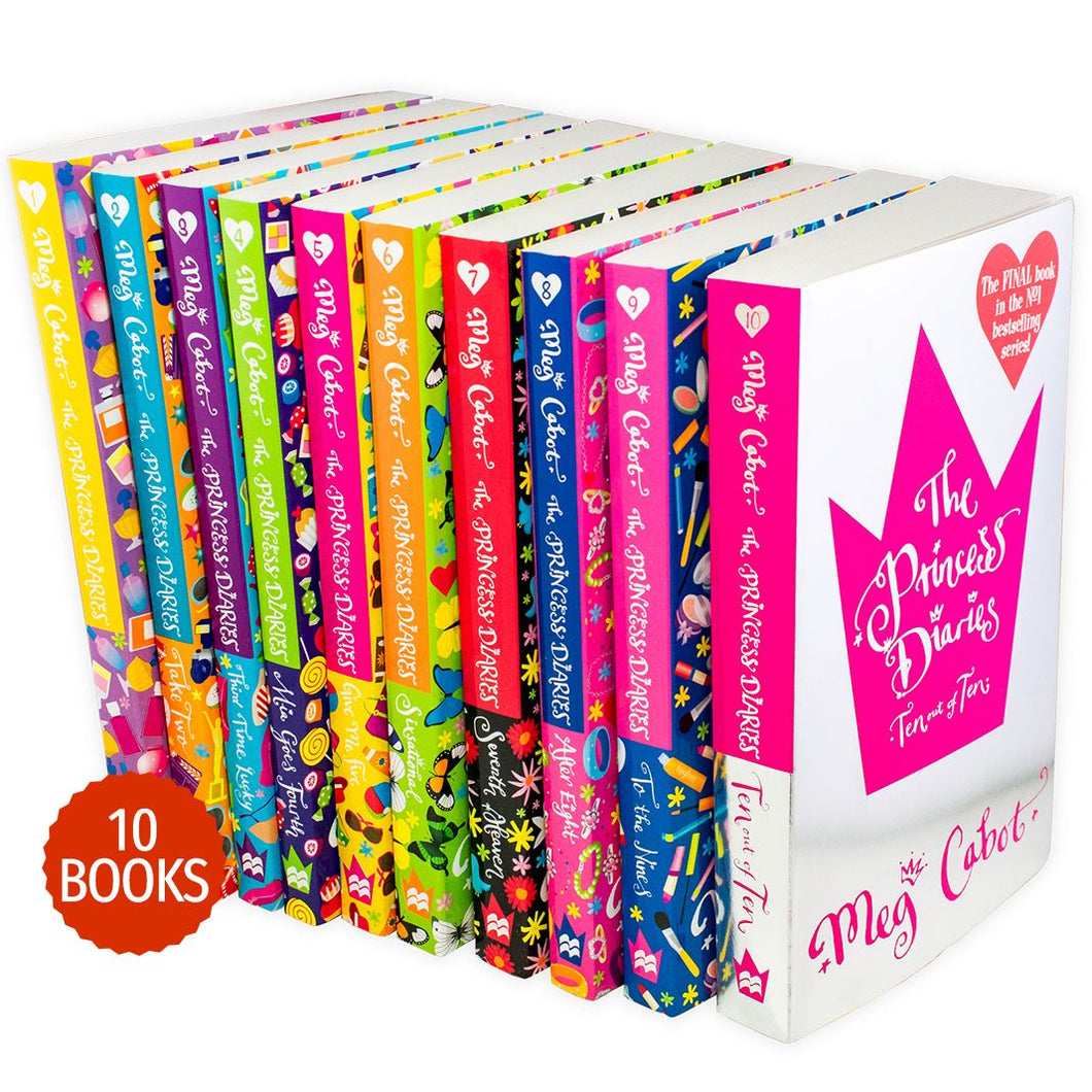 The Princess Diaries 10 Books Collection Set
