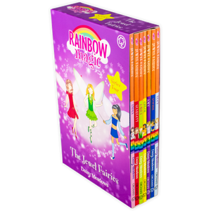 Rainbow Magic The Jewel Fairies 7 Book Collection