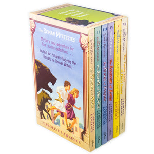 The Roman Mysteries 6 Book Collection