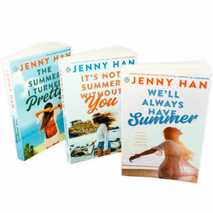 Jenny Han Summer 3 Books Trilogy Collection Set