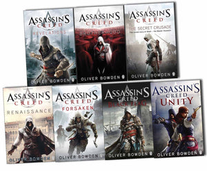 Oliver Bowden Assassins Creed 7 Books Collection